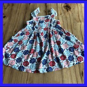 Genuine kids Osh Kosh ruffled sleeveless dress. 3T